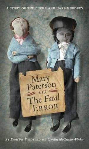 9781906841201: Mary Paterson, or, the Fatal Error (ASLS Annual Volumes)