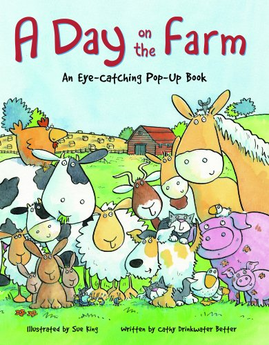 9781906842314: Day on the Farm: An Eye Catching Pop Up Book (Day Out Mini Pop Ups)