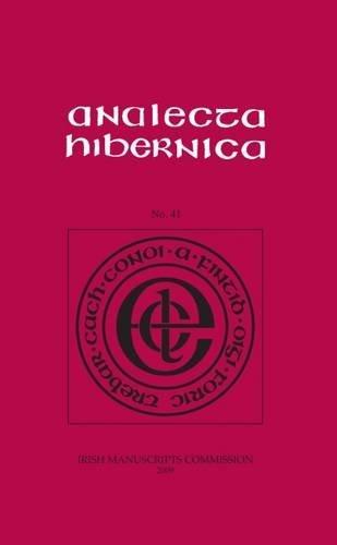 Analecta Hibernica, No 41, 2009: COIMISIUN
