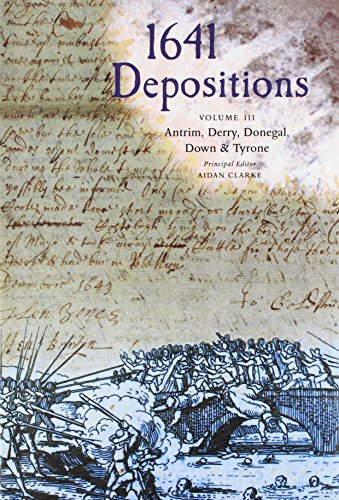 1641 Despositions: Antrim, Derry, Donegal, Down & Tyrone 3