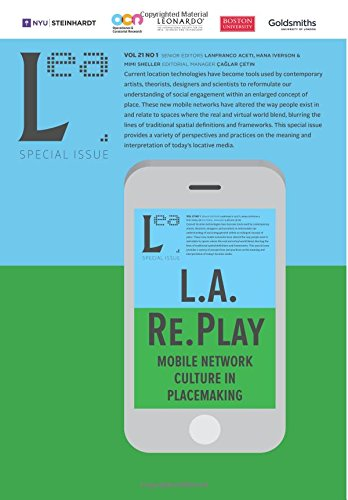 9781906897369: L.A. Re.Play: Leonardo Electronic Almanac, Vol. 21, No. 1 (Volume 21)