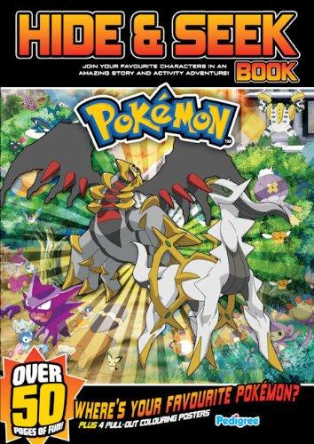 9781906918576: Pokemon Hide and Seek Book Summer 2010