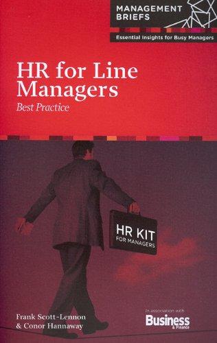 HR for Line Managers: Best Practice: Frank Scott-Lennon