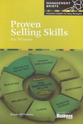 Proven Selling Skills For Winners: Ronan McNamara