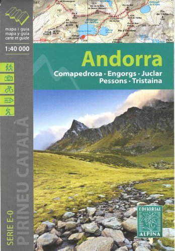 9781906952358: Andorra (Pyrenees) 1:40,000 Hiking Map ALPINA