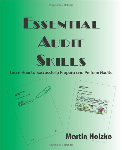 9781906972035: Essential Audit Skills - Learn How to Successfully Prepare and Perform Audits