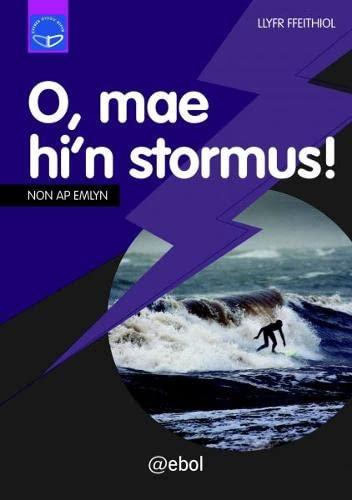 9781907004759: Cyfres Dysgu Difyr: O, Mae Hi'n Stormus (Welsh Edition)