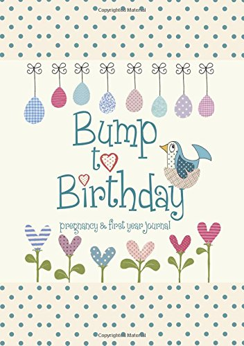 9781907048487: Bump to Birthday, Pregnancy & First Year Baby Journal : an award-winning journal / diary to help you hold onto memories of the growing bump, the birth ... first year with your baby