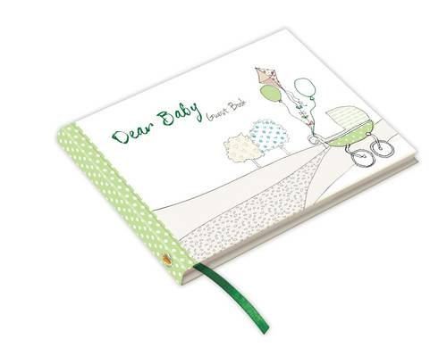 9781907048548: Dear Baby ... guest book (Green) : Capture those messages of love & congratulations when a baby is introduced to the world - Baby Shower (From You to Me Journals)