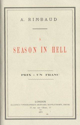 9781907071164: A Season in Hell (English and French Edition)