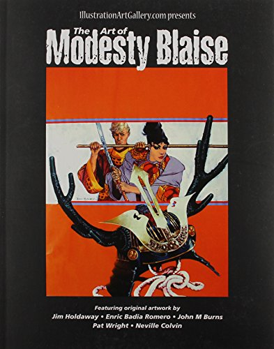 9781907081262: The Art of Modesty Blaise (Illustration Art Gallery Presents)