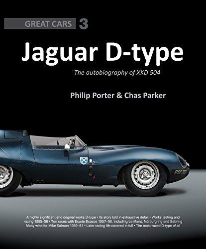 Porter limitiert Jaguar D-Type Die Autobiografie von XKD 504 Philip und Chas