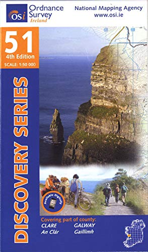 9781907122057: Discovery Map 51 Clare Galway (Discovery Maps) (Irish Discovery Series)