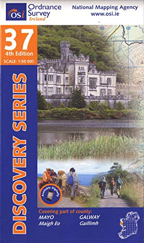9781907122231: Discovery Map 37 Mayo Sw & Galway (Discovery Maps) (Irish Discovery Series)