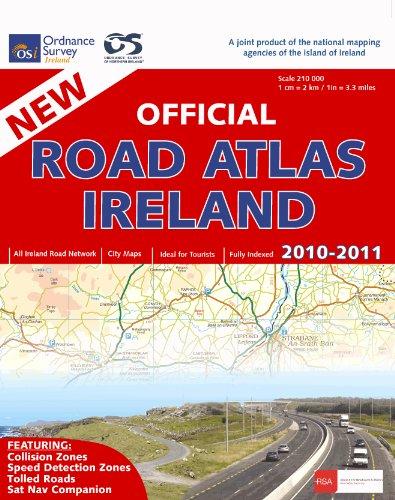 9781907122309: Official Road Atlas Ireland 2010-2011