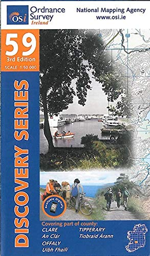 Clare, Offaly, Tipperary (Irish Discovery Series): Ordnance Survey Ireland