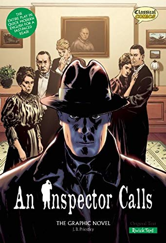 9781907127243: An Inspector Calls The Graphic Novel: Quick Text (Classical Comics: Quick Text)