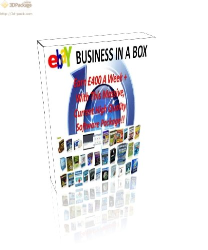 9781907145483: Amazing eBay Business in a Box, Earn GBP400+ a Week 2012: Massive Software Package for Resell