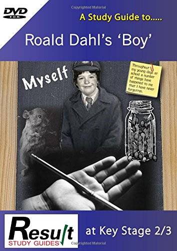 9781907175787: A Study Guide to Boy by Roald Dahl at Key Stage 2 to 3: Below Level 3 & Levels 3-4
