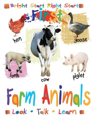 9781907184369: Farm Animals (First)