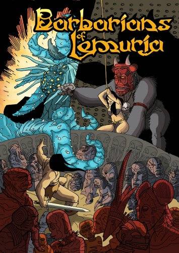 9781907204319: Barbarians of Lemuria: Sword & Sorcery Role-Playing Game