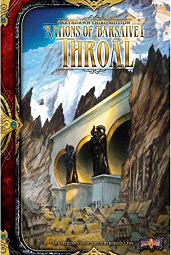 9781907218378: Nations of Barsaive Volume One: Throal (Earthdawn)