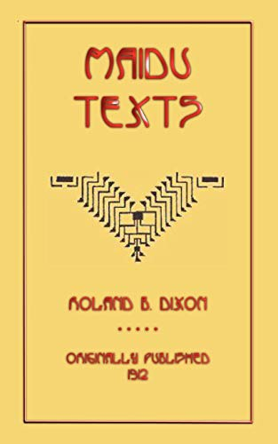 9781907256356: Maidu Texts (Myths, Legend and Folk Tales from Around the World)