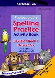 9781907269868: Photocopiable Spelling Practice Activity Book: Revision Book 1 Phases 3 & 4