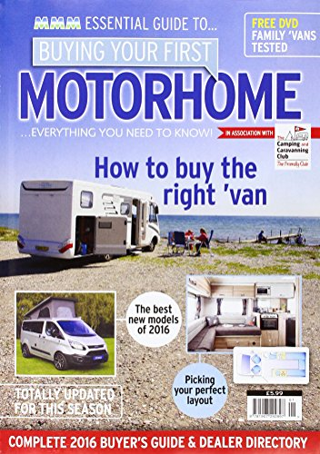 9781907292897: Buying Your First Motorhome 2016