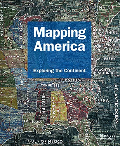 Mapping America: Exploring the Continent (Hardcover): Duncan McCorquodale