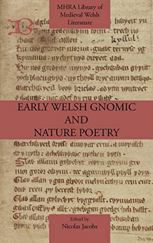 9781907322587: Early Welsh Gnomic and Nature Poetry