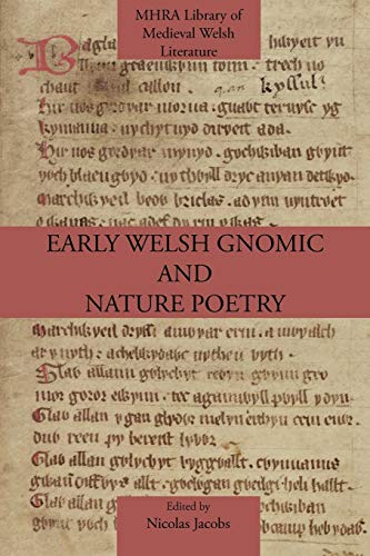 9781907322686: Early Welsh Gnomic and Nature Poetry