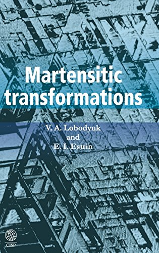 9781907343995: Martensitic Transformations