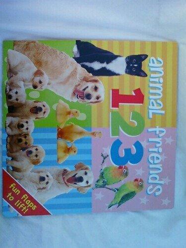 9781907358333: Animal Friends 123 (Fun Flaps to Lift!)