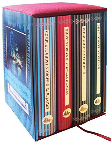 9781907360206: A Boxful of Ghosts 4-Book Boxed Set: Containing: M. R. James's Complete Ghost Stories; Charles Dickens's Ghost Stories (illustrated); Best Ghost Stories; Irish Ghost Stories (Collectors Library)