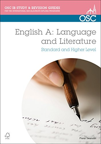 9781907374708: IB English A: Language & Literature: Standard & Higher Level (OSC IB Revision Guides for the International Baccalaureate Diploma)