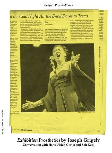 9781907414022: Exhibition Prosthetics (Bedford Press Editions)