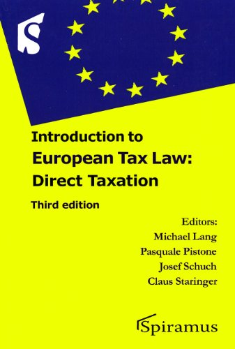 9781907444685: Introduction to European Tax Law: Direct Taxation