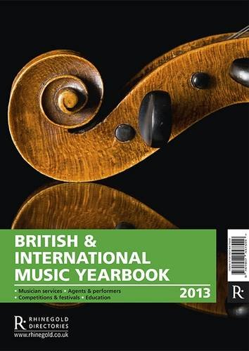 British International Music Yearbook 2013 (Paperback)