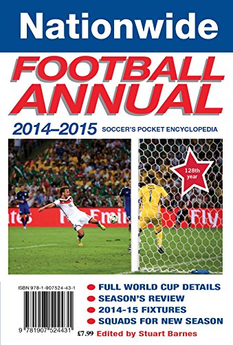 Nationwide Annual 2014-15: Soccer's pocket encyclopedia (Annuals)