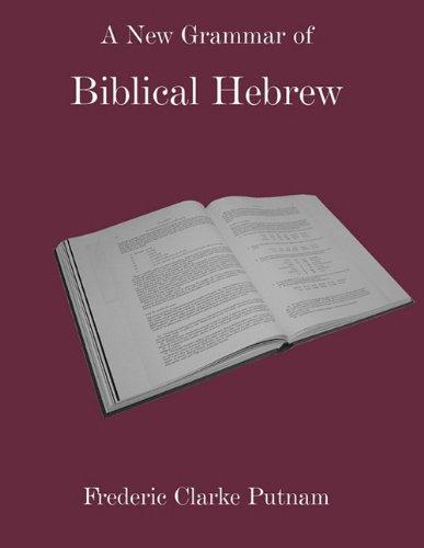 9781907534034: A New Grammar of Biblical Hebrew
