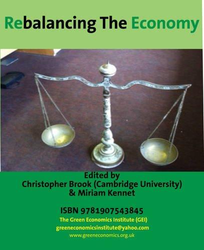9781907543845: Rebalancing the Economy