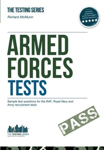 9781907558092: Armed Forces Tests (practice Tests for the Army, RAF and Royal Navy): 1 1