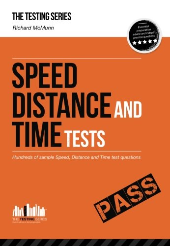9781907558597: Speed, Distance and Time Tests: Hundreds of sample Speed, Distance and Time test questions (Testing Series)