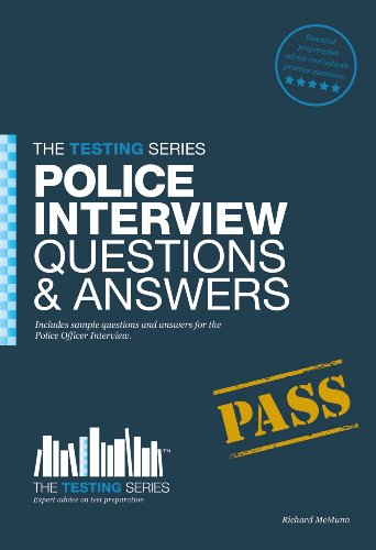 9781907558627: Police Officer Interview Questions & Answers