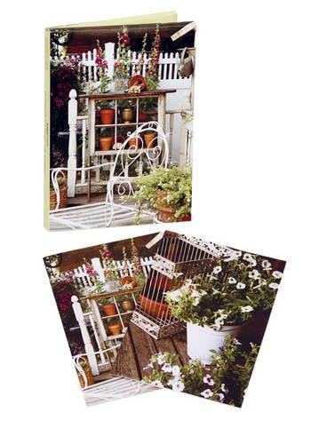 9781907563409: Country Garden Wallet Notecards
