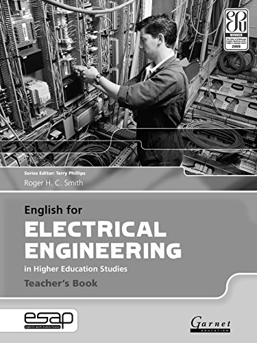 9781907575334: English for Electrical Engineering - Teacher's Book