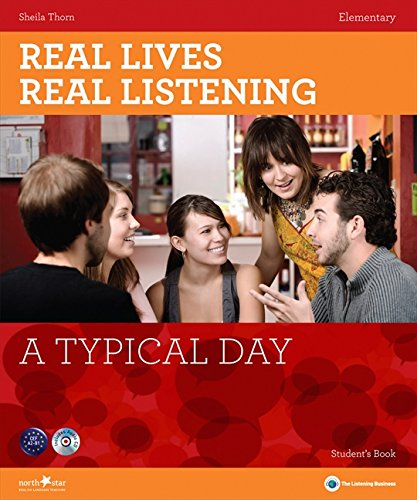 9781907584428: A Typical Day: Elementary Student's Book + CD (Real Lives, Real Listening S)