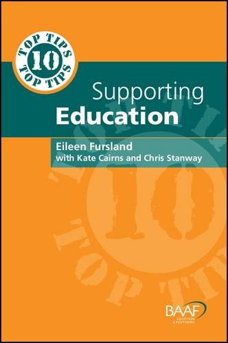 Ten Top Tips for Supporting Education (Paperback): Eileen Fursland, Kate