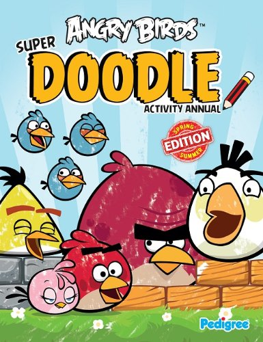 9781907602375: Angry Birds Super Doodle Activity Annual 2013